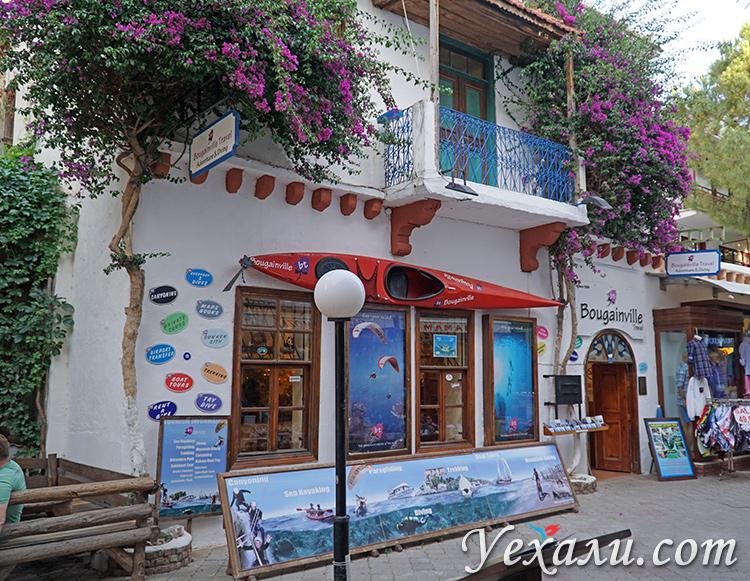 Улочки города Каш, Турция.