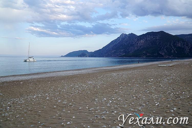 Пляж Чирали, Турция.