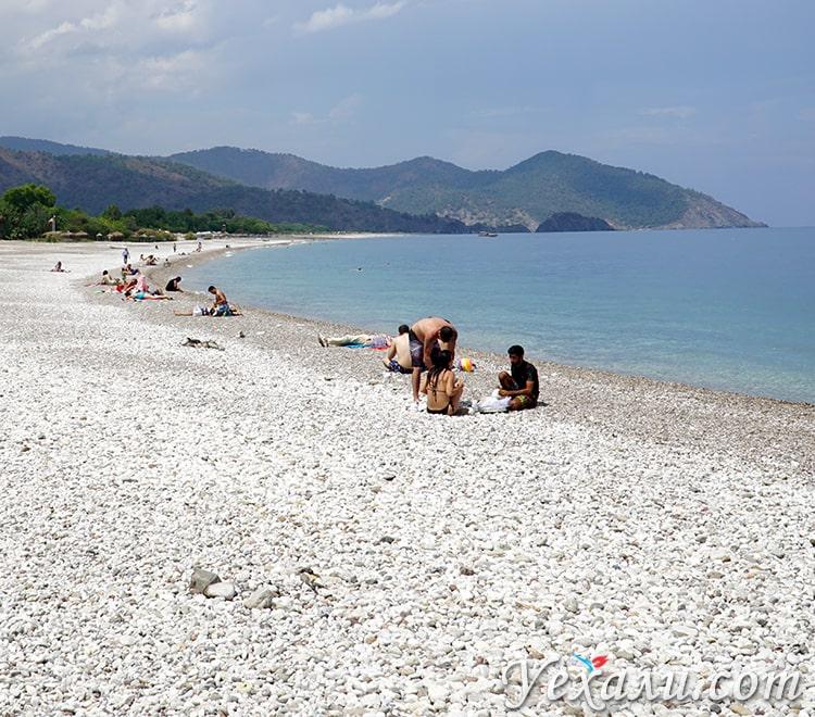Фото пляжа Чиралы.