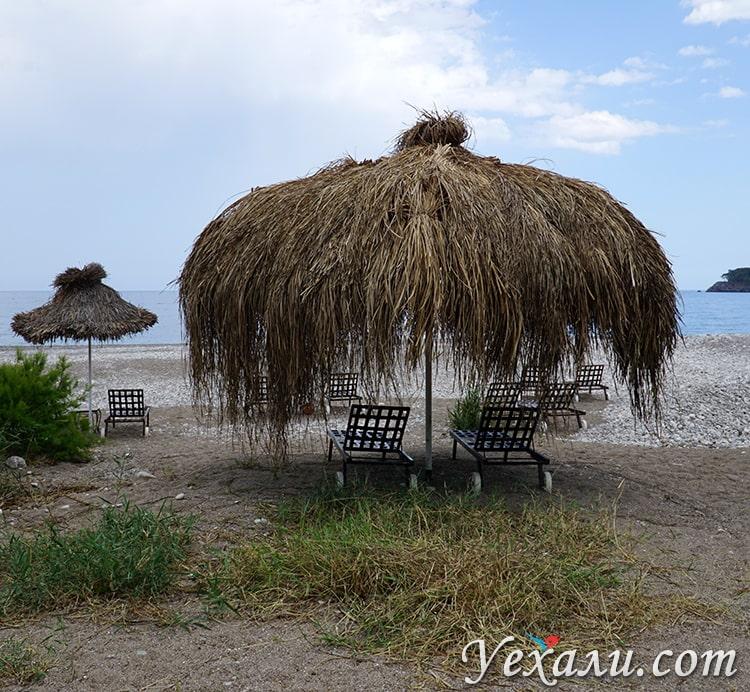 Пляж Чиралы, Турция.
