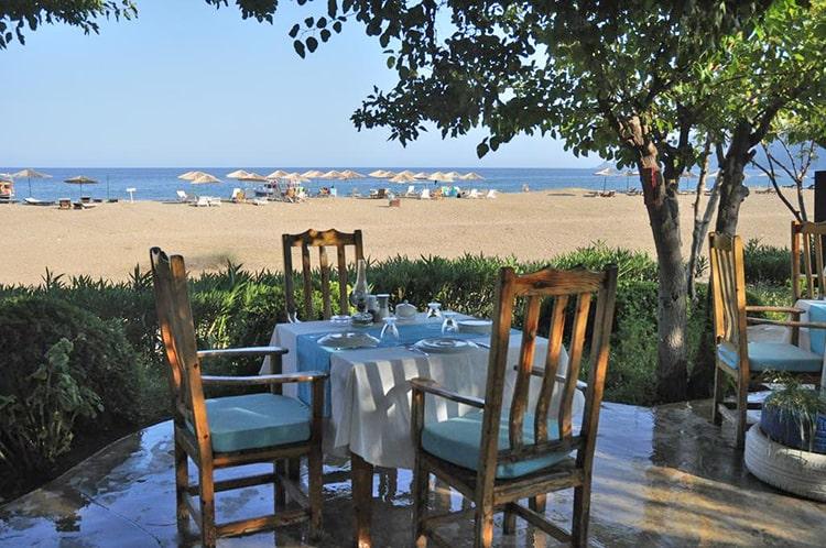 Отель Etenna Beach Bungalows, Турция, Чирали.