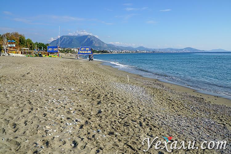 Пляж Кейкубат, Алания, Турция.