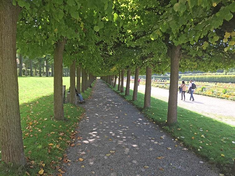 Парк около Аугустусбурга