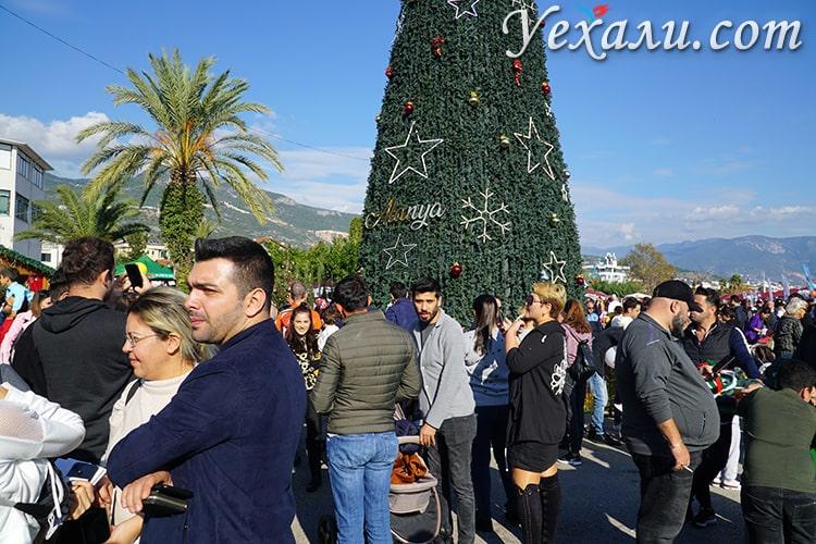 Новый год в Алании, Турция.