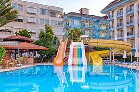 Отель Kahya Hotel у пляжа Клеопатры, Алания, Турция.