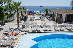 """Отель """"все включено"""" на пляже Клеопатры в Алании: Xperia Saray Beach Hotel."""